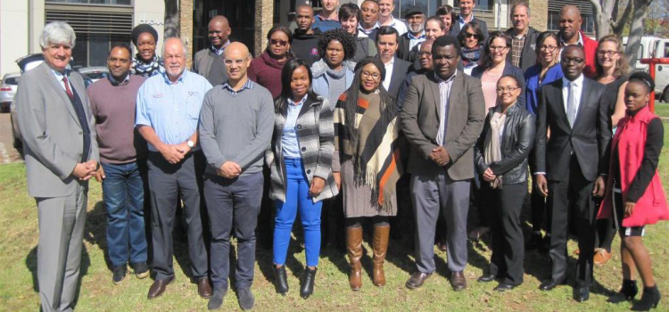 GlobeDrought researchers on scoping mission in South Africa